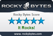 Rocky Bytes 5-star award